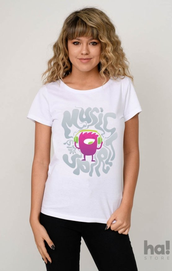 Tricou Music Is The Spirit
