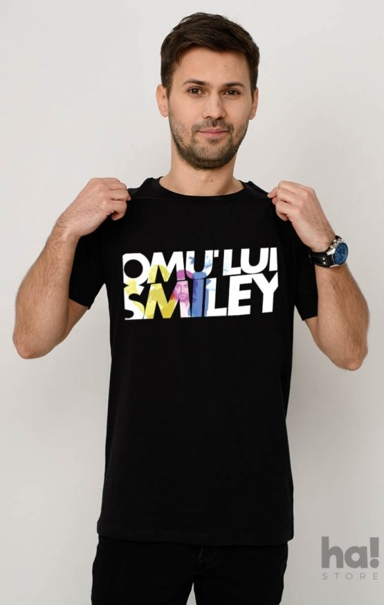 Tricou Omu Lui Smiley