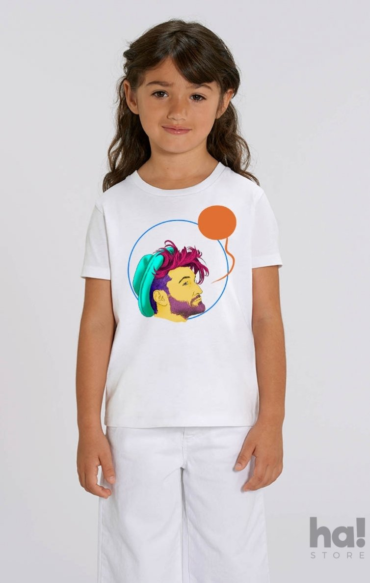 Tricou Copii Smiley in Cerc